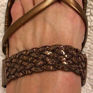 Brown Bronze Sandal - Comfort Says It All!